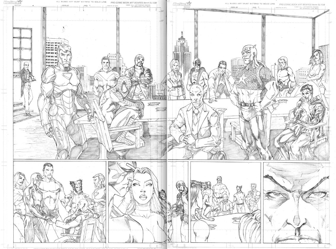 Xmen - Avengers -  House of M.