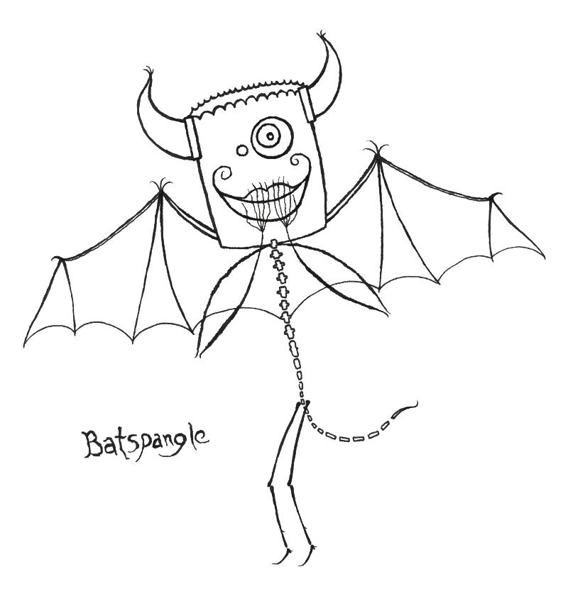 everyween: 2015.10.22: batspangle: WIP/INKED by organism