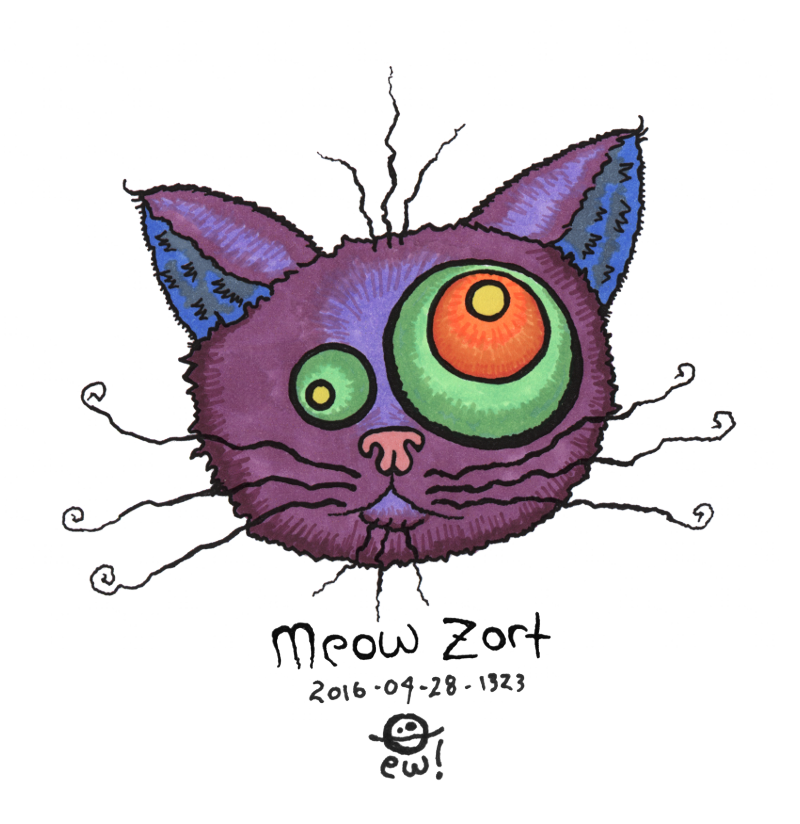 everyween: meow-zort [re-color] by organism