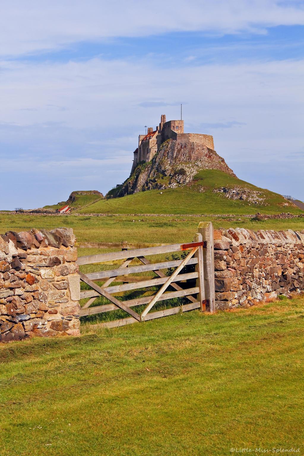 Lindisfarne Castle ii by Little-Miss-Splendid