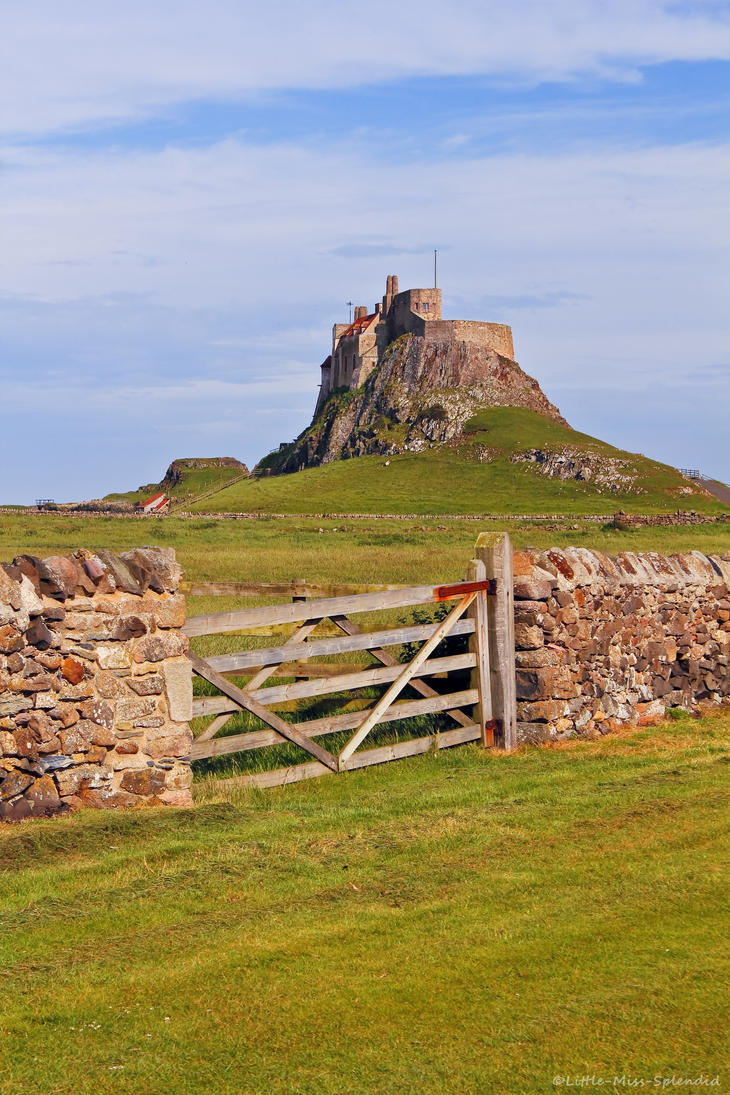 Lindisfarne Castle ii by Little-Miss-Splendid