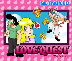 Box Art of Love Quest by pixelartkid