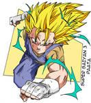 Super Saiyan 3 Paata (Colored)
