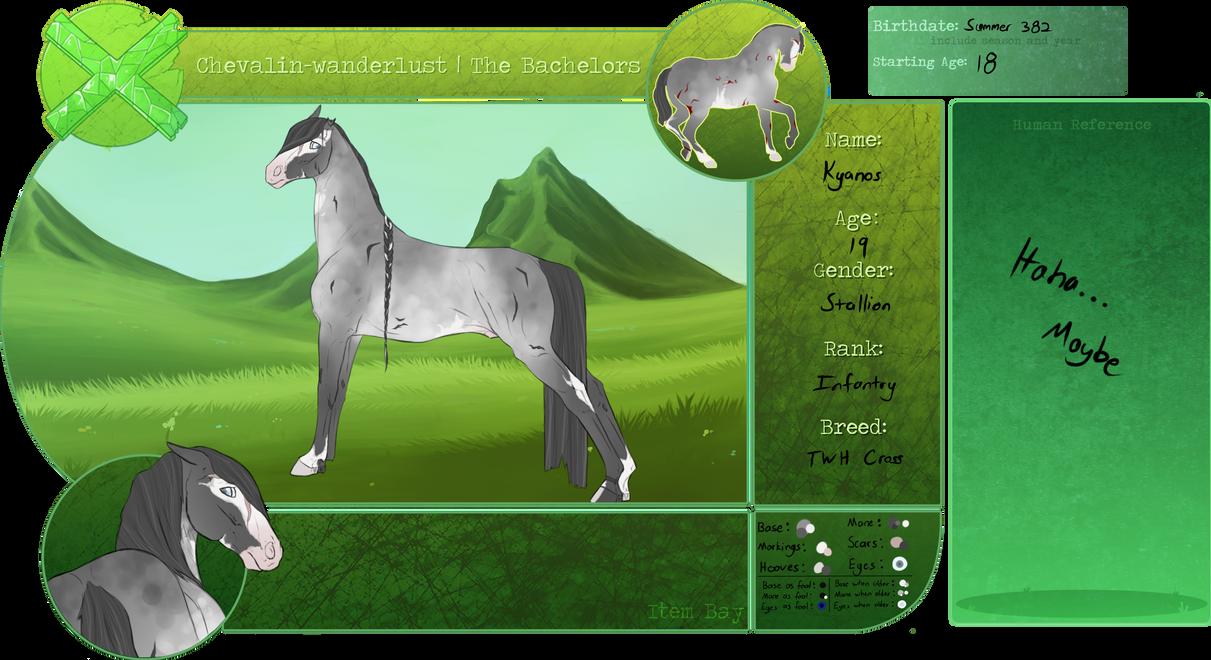 CW | Kyanos | Bachelor Herd | Stallion by NaporieRizia
