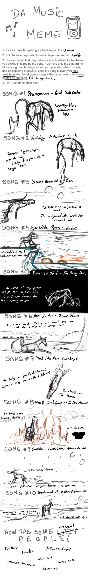 Music Meme - Imoria themed by NaporieRizia