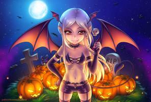 Happy Halloween by burburart