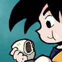 Dernièrement une certaine hype sur Dragon Ball fait son come back. La faute a un super jeu vidéo sur la license qui va vraiment poutrer sa maman.  Pour surfer sur cette hype, deux gars de Deviant art ont lancé un défi où il falllait redessiner des planches de Dragon Ball. Avec en plus une illu d'exemple ou ils ont redessiné une des couvertures d'un des tomes du manga.  Ayant a moitié rien compris dans un premier temps, j'ai cru qu'il fallait faire une des couv' en plus de la planche.  Mon choix c'était porté sur celle du tome 38, une de mes préférées, vu que y'avait Son Goten dessus :v ! Mais a priori y'avait pas besoin de faire cette illu, c'était pour illustrer leur propos... donc je l'ai faites pour rien, si ce n'est le plaisir et la satisfaction personnelle :v