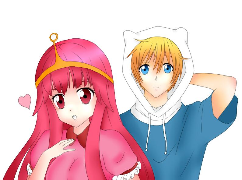 Anime Adventure Time By Tinerex On DeviantArt