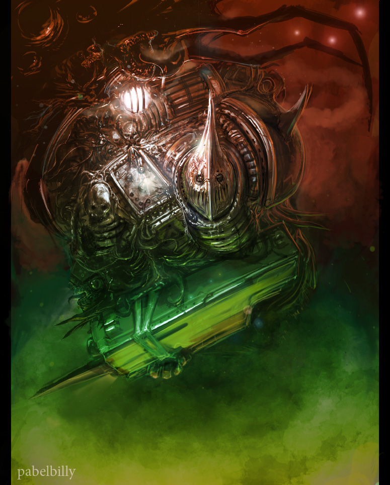 warhammer deathguard disco2 by PabelBilly