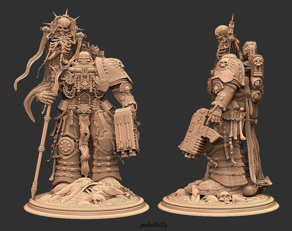 warhammer chaplain v2.0 by PabelBilly