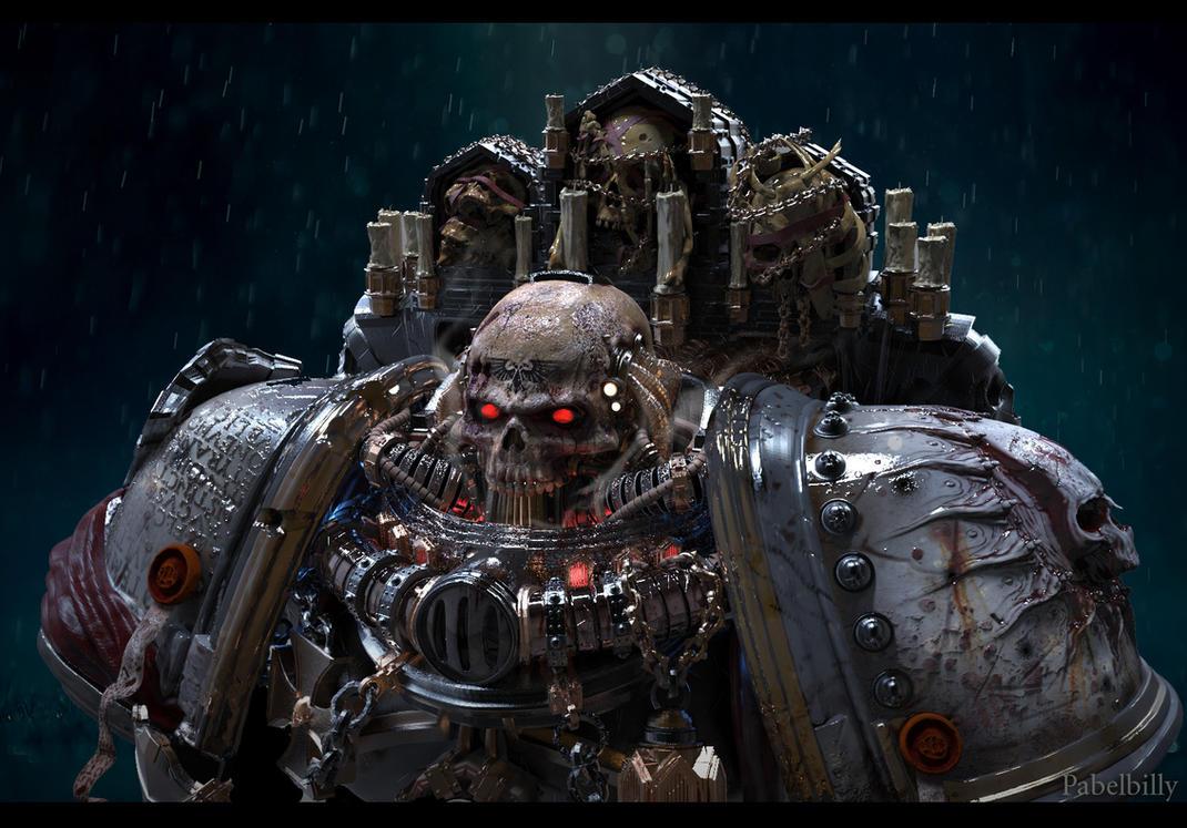 warhammer chaplain by PabelBilly on DeviantArt