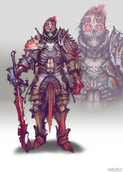 another undead knight by PabelBilly