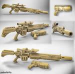 warhammer vindicare assassin gun