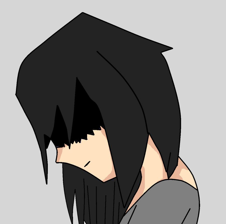 anime emo girl by streaky300 on deviantart