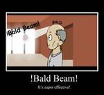 BALD BEAM Poster