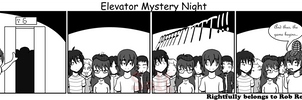 Elevator Mystery Night by Son23