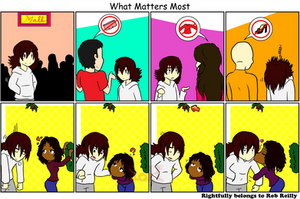 What Matters Most Christmas Comic 2011