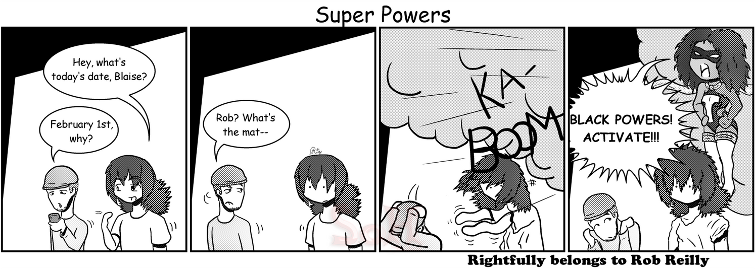 Super Powers by Son23