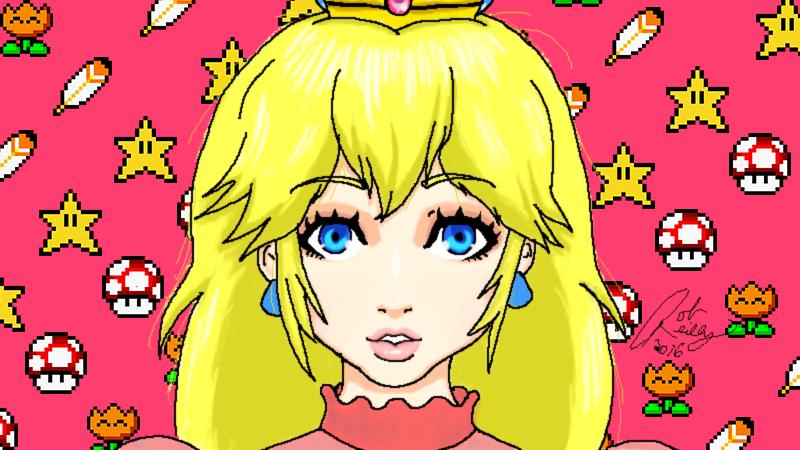 Pretty Princess Peach by Son23