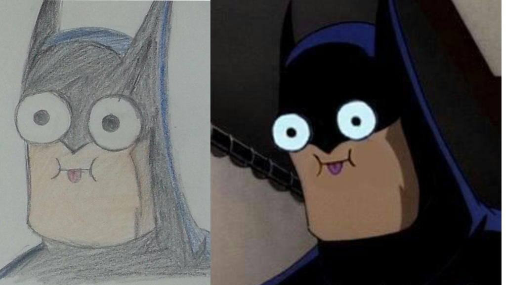 Funny Face Funny Batman Face p by
