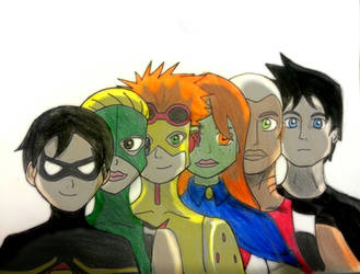 The team by Randompikaturtle