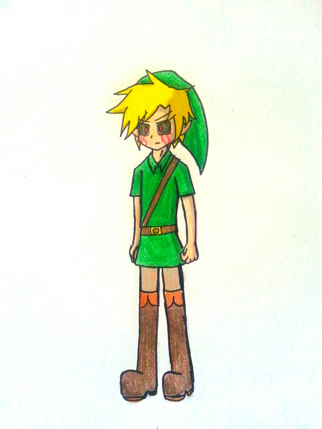 BEN Drowned by Randompikaturtle