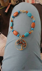 Tree of Life Anklet by hpsween51