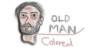 Old man colored