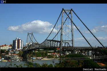 Ponte Hercilio Luz - Floripa by wp130