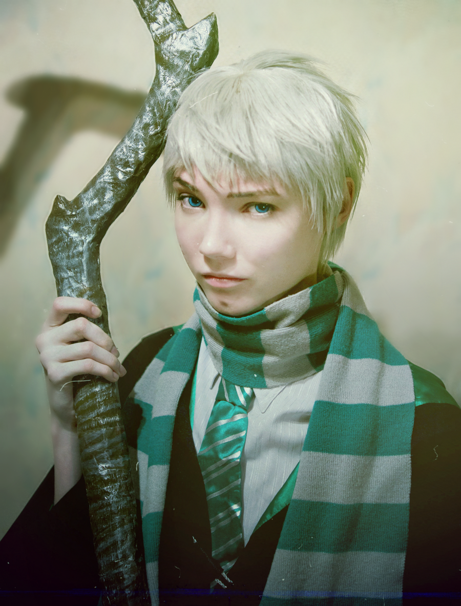 Jack Frost: Slytherin style by Shredinger-Cat