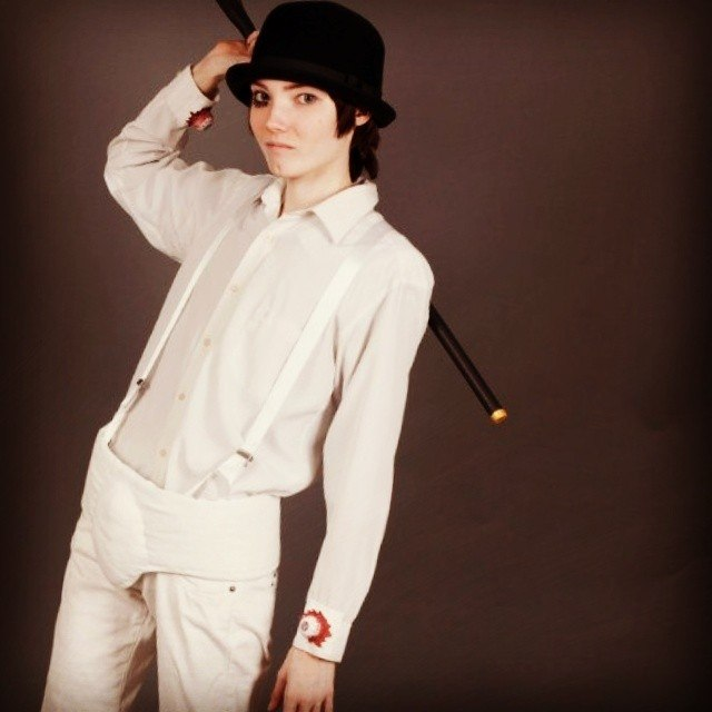 Clockwork Orange - Alex DeLarge cosplay by Shredinger-Cat ... A Clockwork Orange Wallpaper