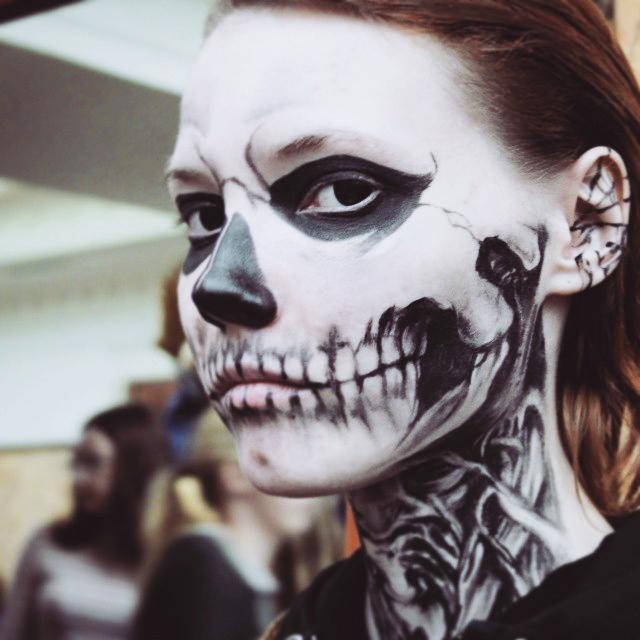 Tate langdon makeup