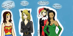 Faberry Brittana - Costumes
