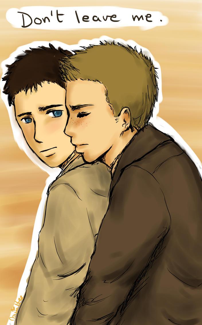 Dean and Castiel by lemonpie-art