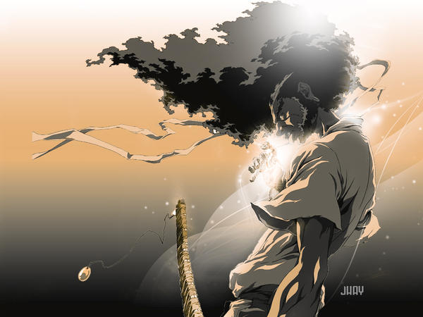 Afro Samurai by t-r-x