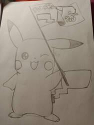 WIP Pokemon 25th anniversary