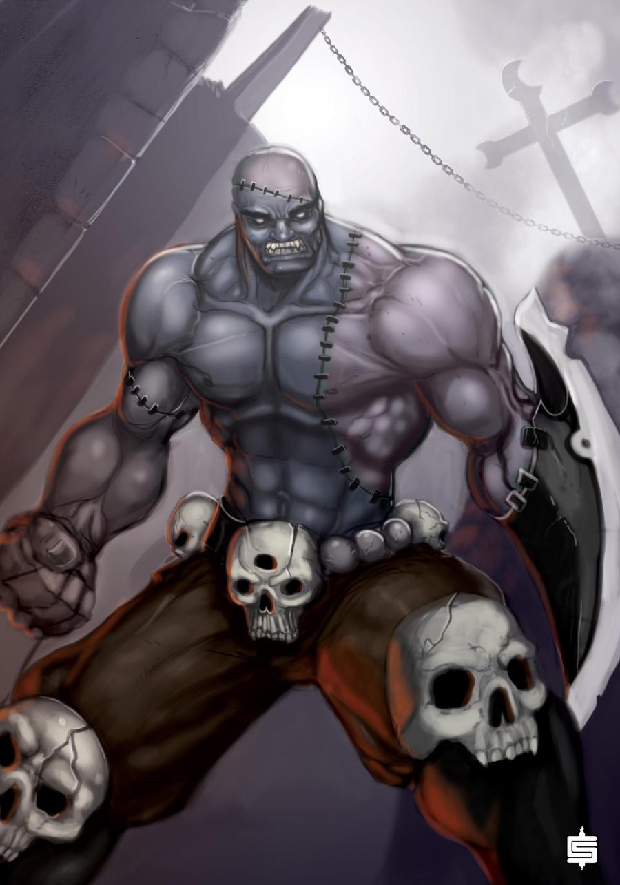 ZombieWarrior by SemperII