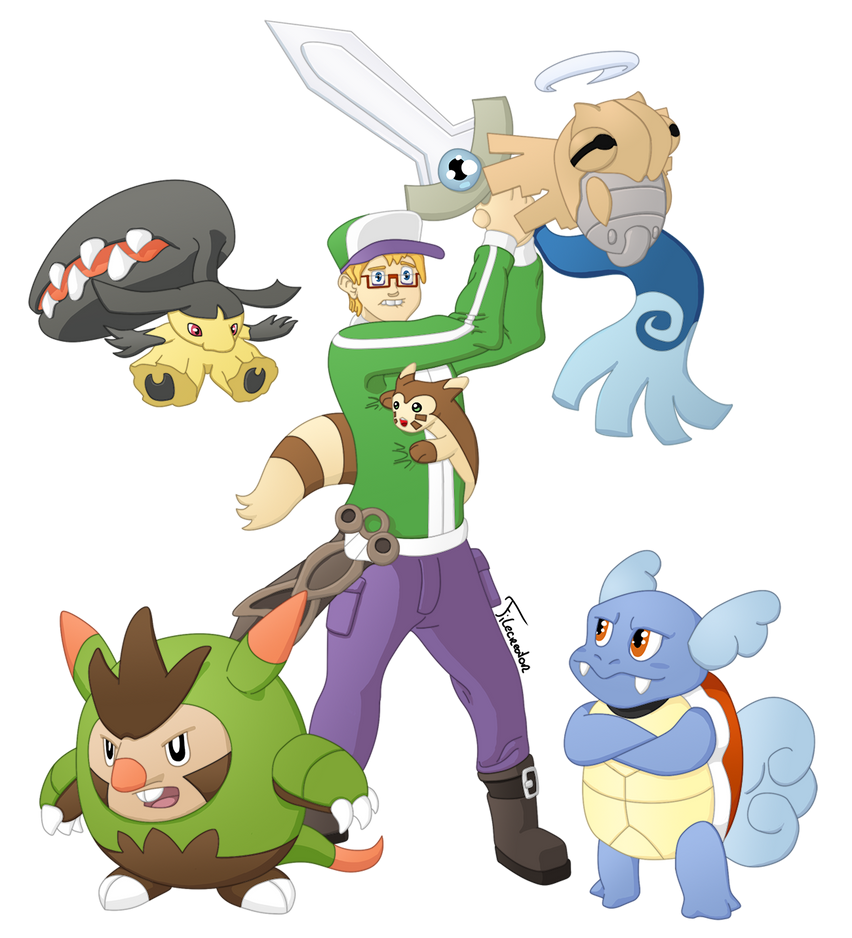 Pokemon Y: Battle for the second badge by Filecreation