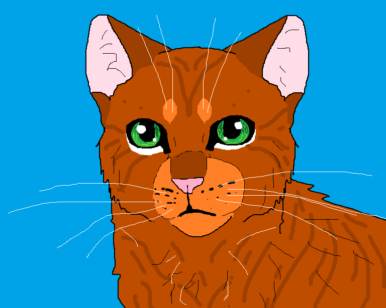 Squirrelflight-Flat Color by TheRealBramblefire