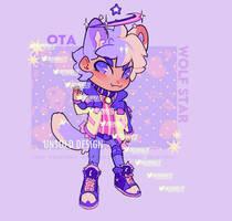 OTA - WOLF STAR - KEMONOMIMI ADOPTABLE [CLOSED]