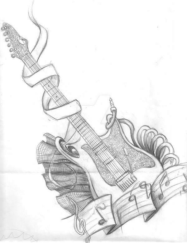 Mikes Guitar by PuNkPoP