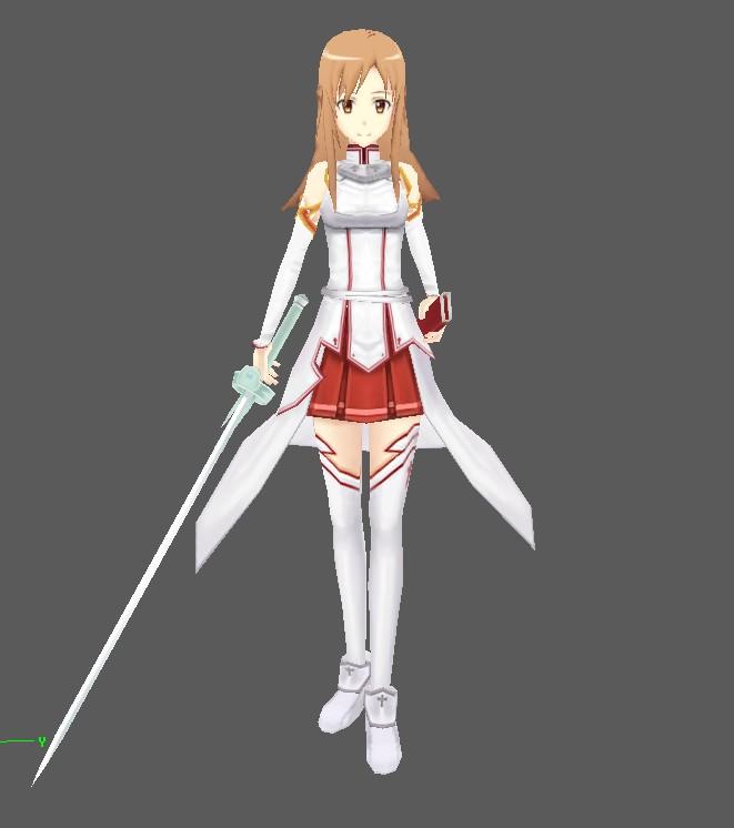 Sword Art Online Yuuki Asuna By Narutoxbase On Deviantart