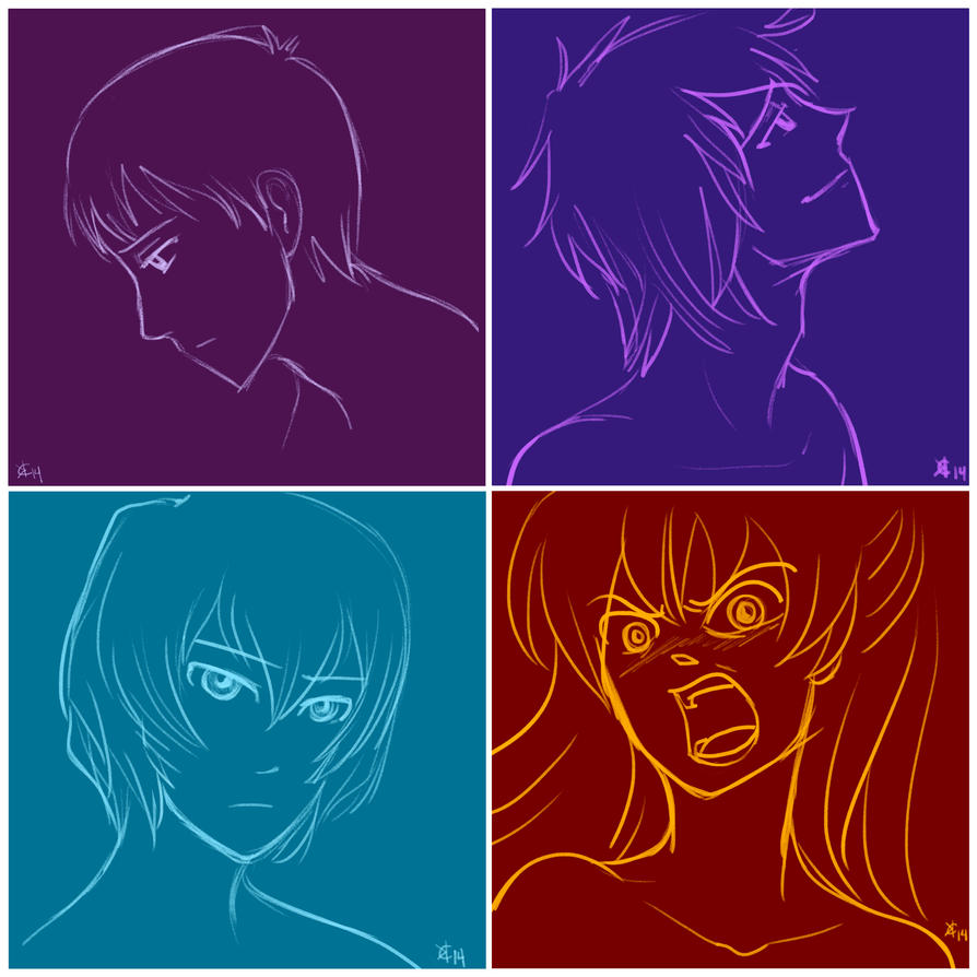 Evangelion Four by Kamiruchan015