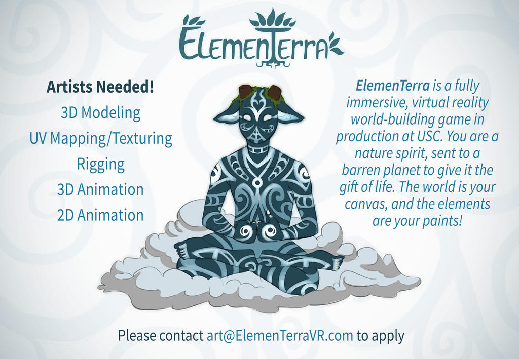 ElemenTerra VR Looking to work with Artists on DA! by Kamiruchan015