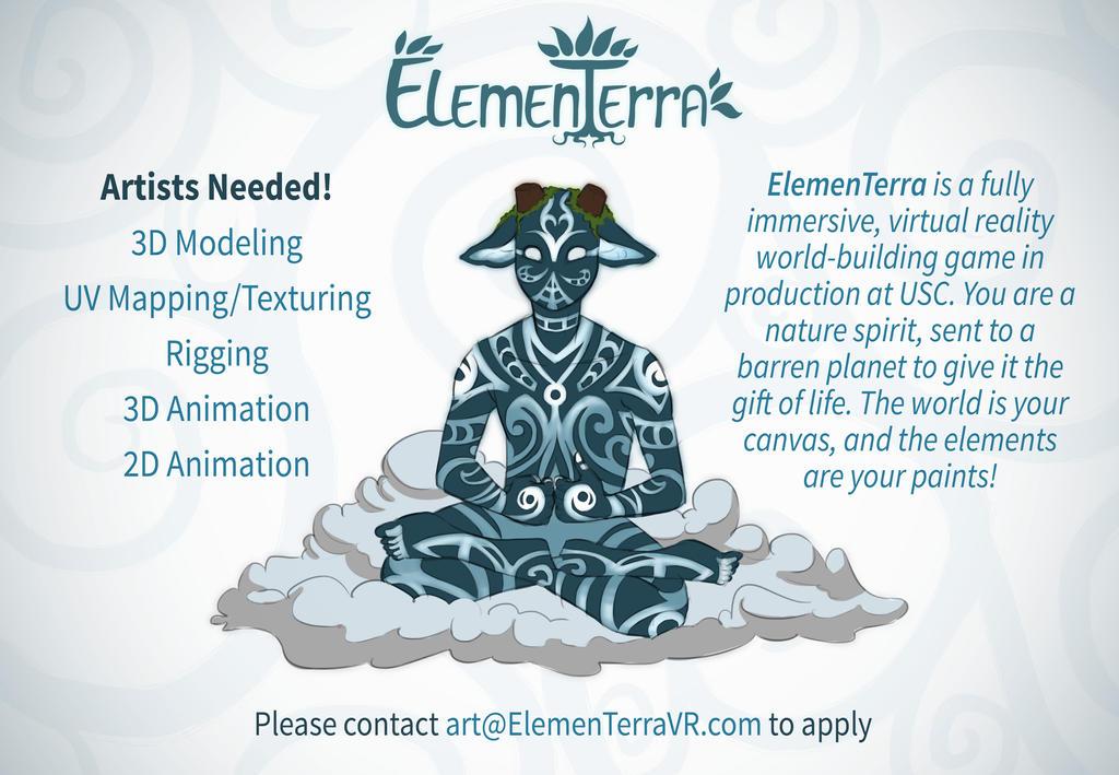 ElemenTerra VR Looking to work with Artists on DA! by Kamiruchan015