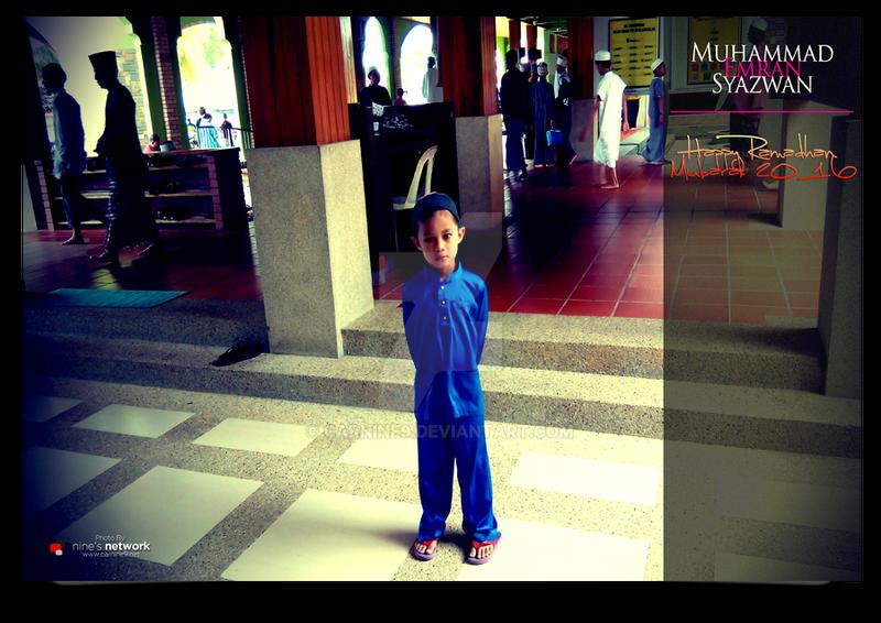 Emran At Masjid Tuanku Syed Putra by carnine9