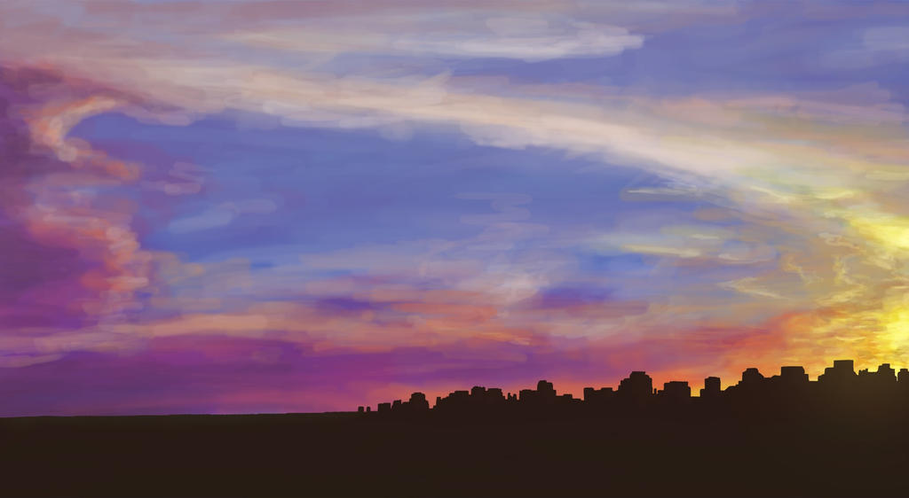 Sunset City by aNNiMON119
