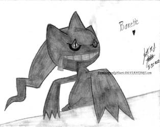 Banette by DominoPunkyHeart