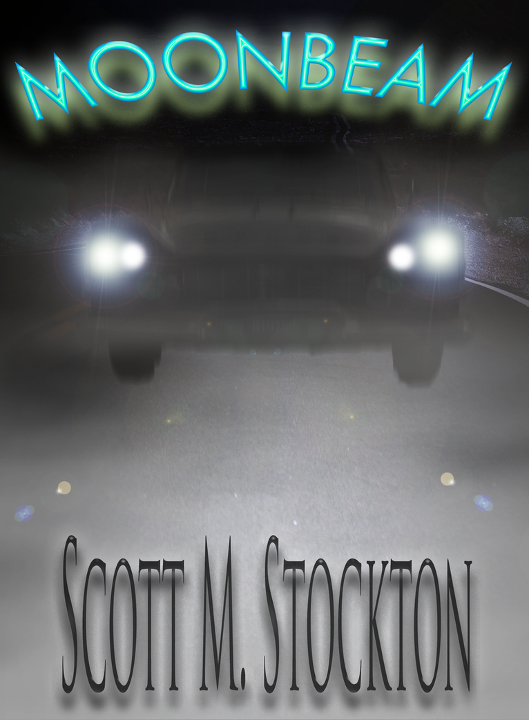 Moonbeam - Book Cover Artwork by DominoPunkyHeart