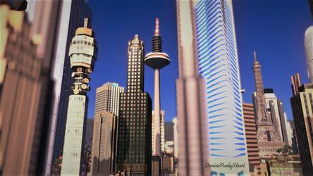 Markham Skyline by DominoPunkyHeart